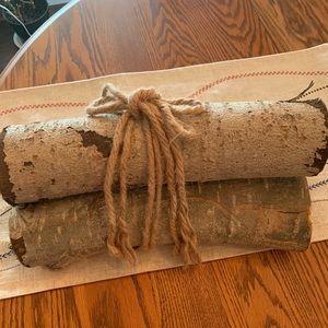Real Birch log bundles